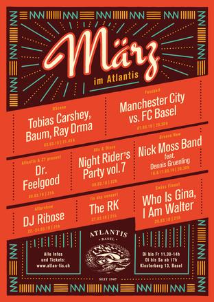 Atlantis - Monthly Posters