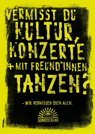 Sommercasino - Guerilla Posters