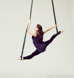Charlotte Dawson - Aerial Straps