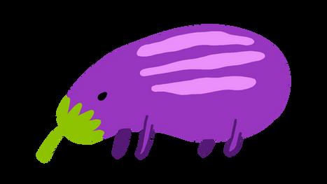 Aubergine Anteater