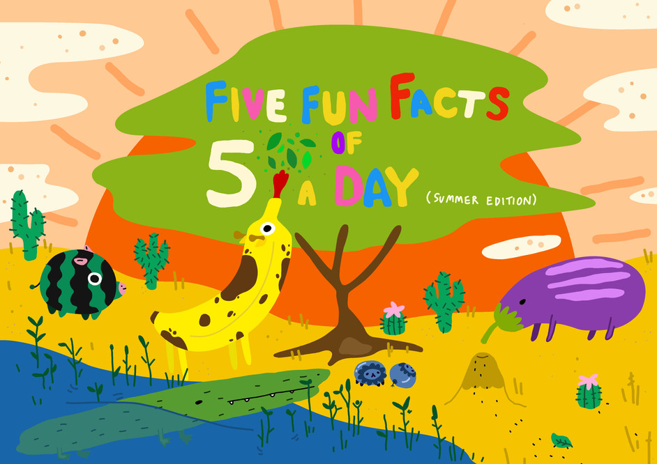 Five Fun Facts of Five A Day