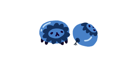 Blueberry Lion