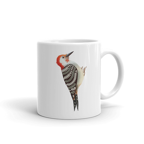 Redbellied Woodpecker Coffee Mug, 11 oz