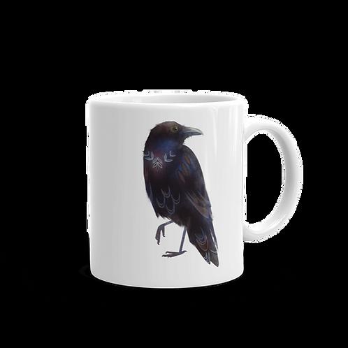 Raven Coffee Mug, 11 oz