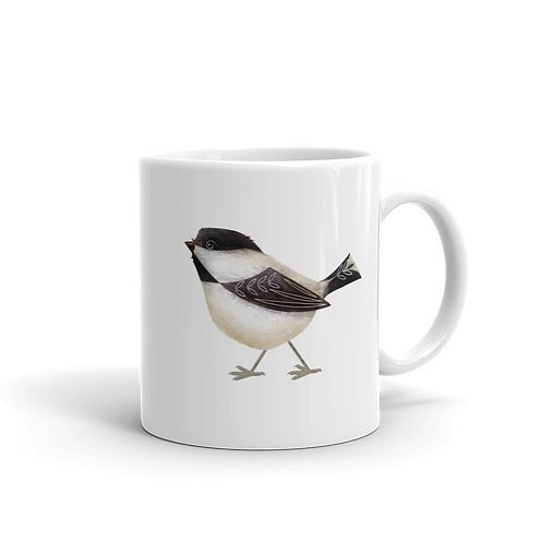 Chickadee Coffee Mug, 11 oz
