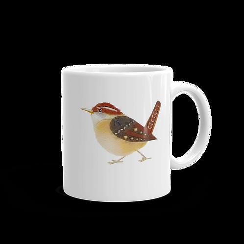 Wren Coffee Mug, 11 oz