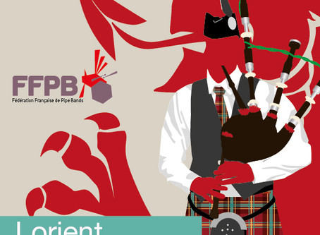 Concours Pipe Band - Catégorie B - Lorient