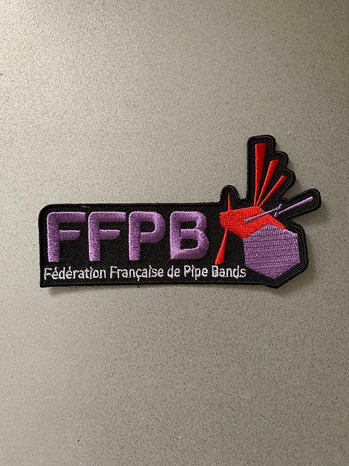 Badge brodé FFPB