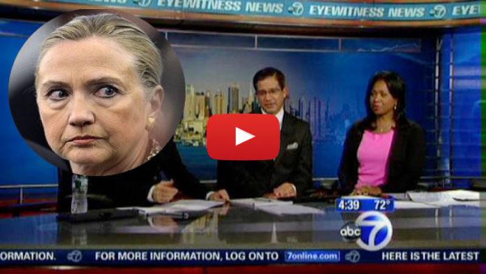 WABC Reports Hillary Clinton Declared Dead