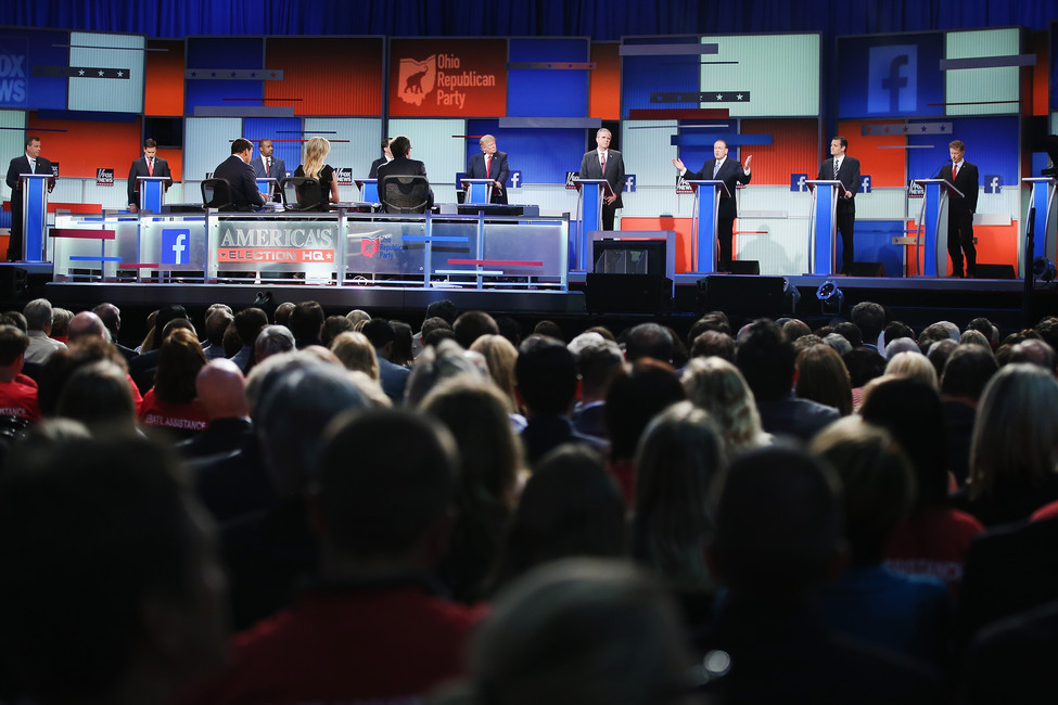 GOP Candidates Participate In First Republican Presidential Debate (Photo by Scott Olson/Getty Images)