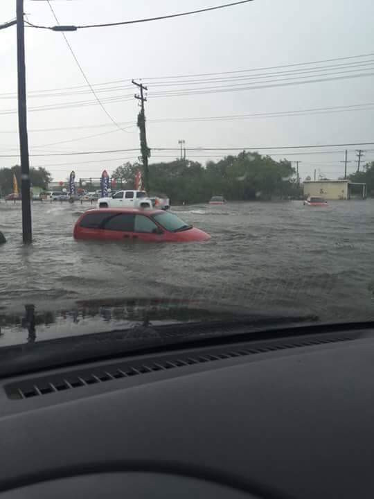 South Texas receives repeated flooding