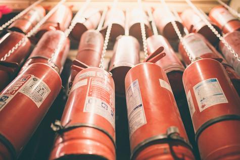 Vitrina de Extintores