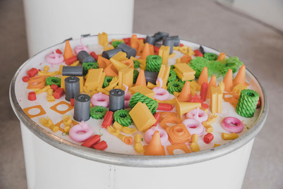 Elementos impresos en 3D