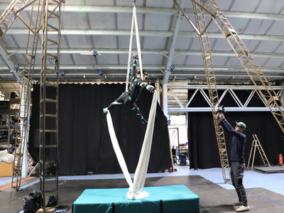 Capturing Circus Artists for VR Experience