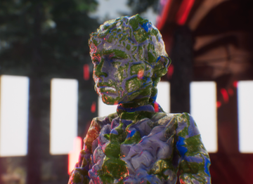 Creating a fictional future: Keiken use mocap & game engines