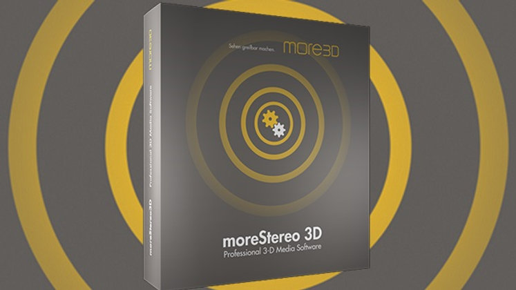 moreStereo 3D software
