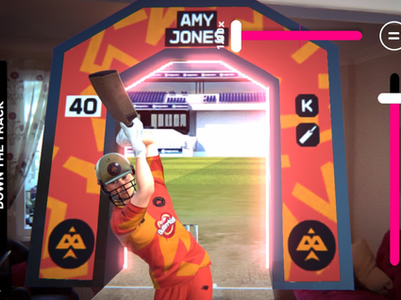 Behind the Scenes: Mixed Reality Cricketing Avatars for The Hundred