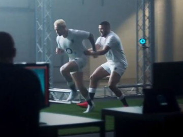 Umbro: Mocap tech for new kit advert