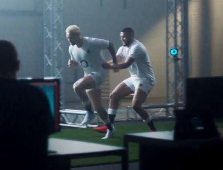 Umbro: Mocap tech for new kit advert