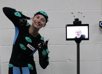 Roaming mocap platform changes way film crews work: the arrival of ROMOCAP