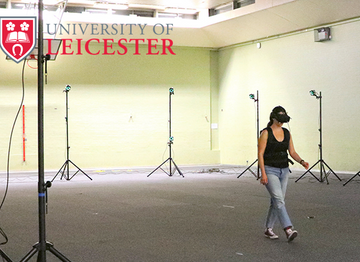 Human Gait Tracking in VR: University of Leicester