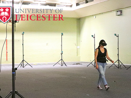 University of Leicester: Human gait tracking in VR