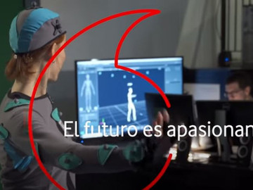 The future is exciting: Performance capture with El Pais & Vodafone