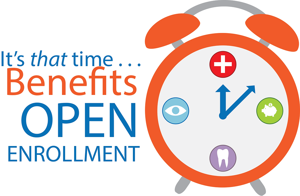 Health benefits open enrollment