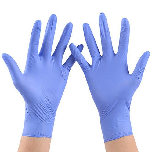 100pcs/Lot Disposable  Gloves Nitrile Rubber