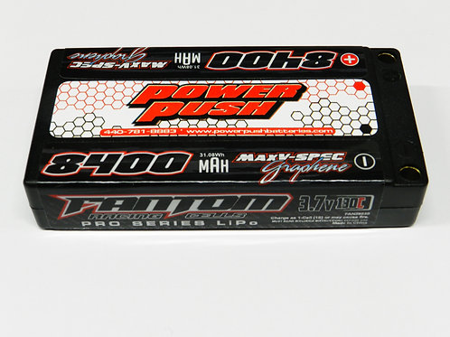 Fantom- Power Push 1S 8400mAh, 130C, 3.7v, MaxV-SPEC
