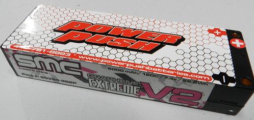 SMC-Powerpush 8000 mAh / 120C / 7.4v / 59.2Wh