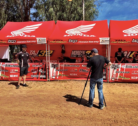 Interview with Tim Vare for the BCP Pro Circuit Honda Junior Team