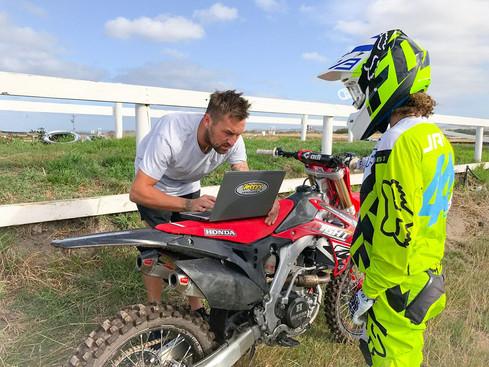 Track testing