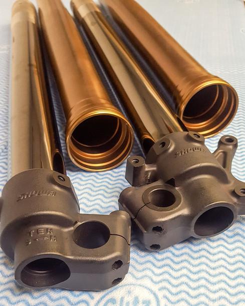 Kashima coated outer tubes