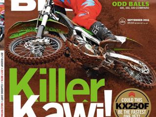 Killer Jeff Crow shot of Eight11's Tim Vare .feat // ADB Magazine cover //