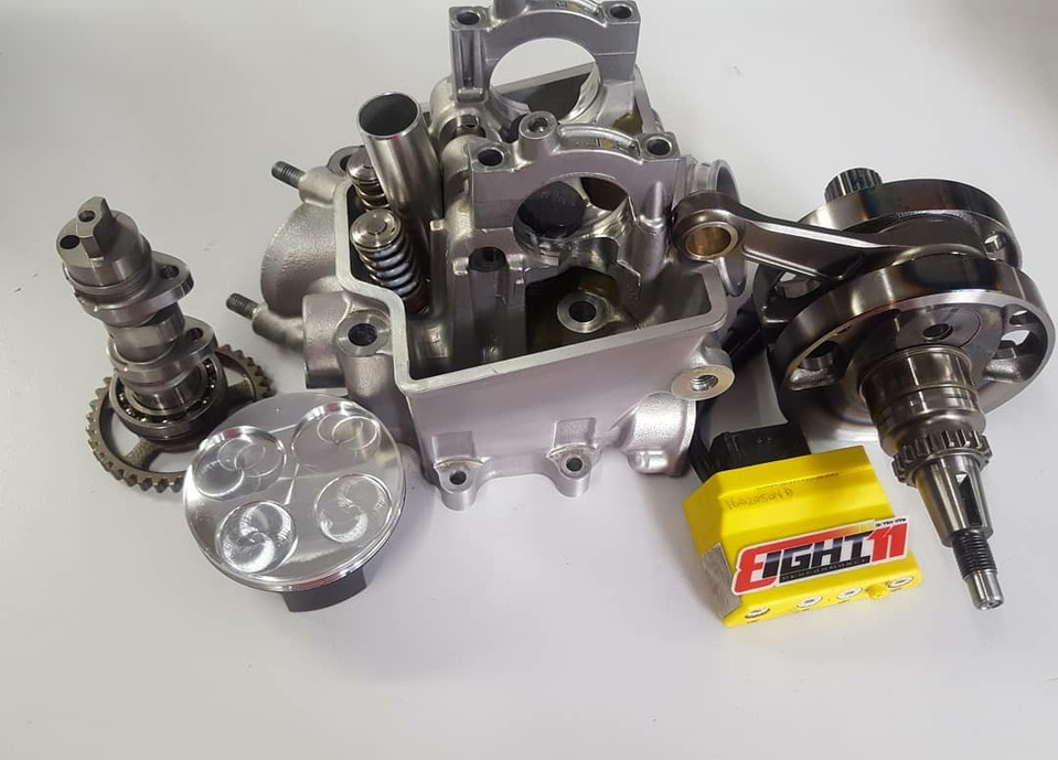 10-17 Honda CRF 250 engine package