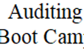Medical Auditing Boot Camp