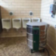 Kiln in your bathroom. #newkiln #chicago