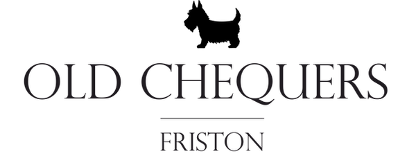 Old Chequers Logo with Scottie Dog PNG.p