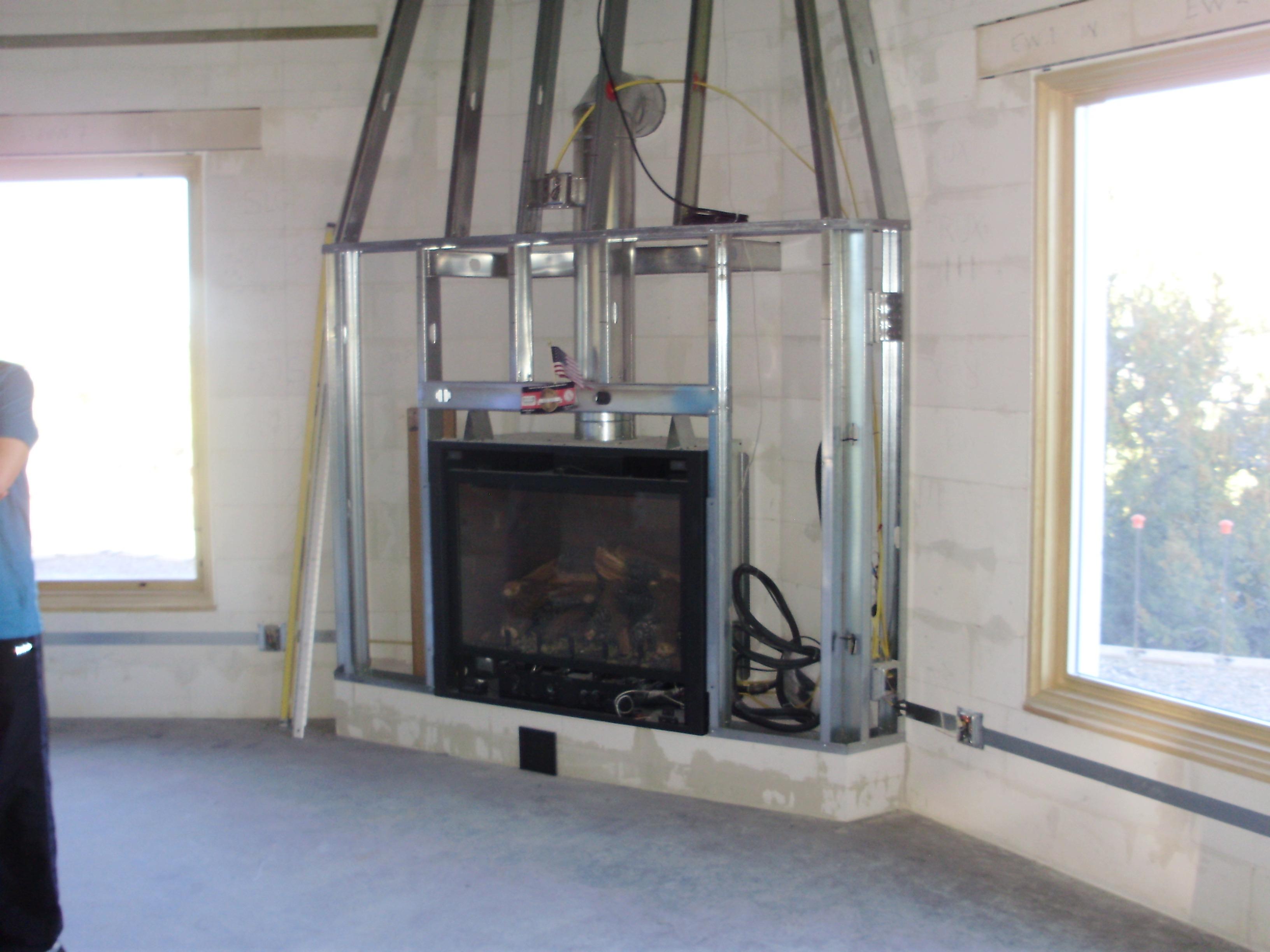 Custom Fireplace, Living Rooms