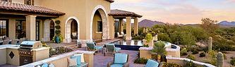 Tuscan style patio az
