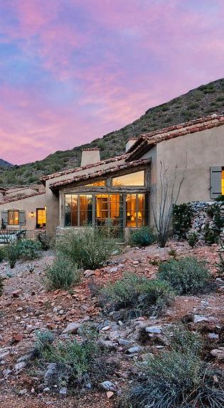 desert custom home