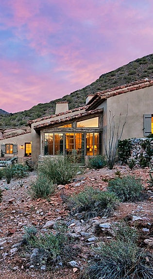 desert custom home