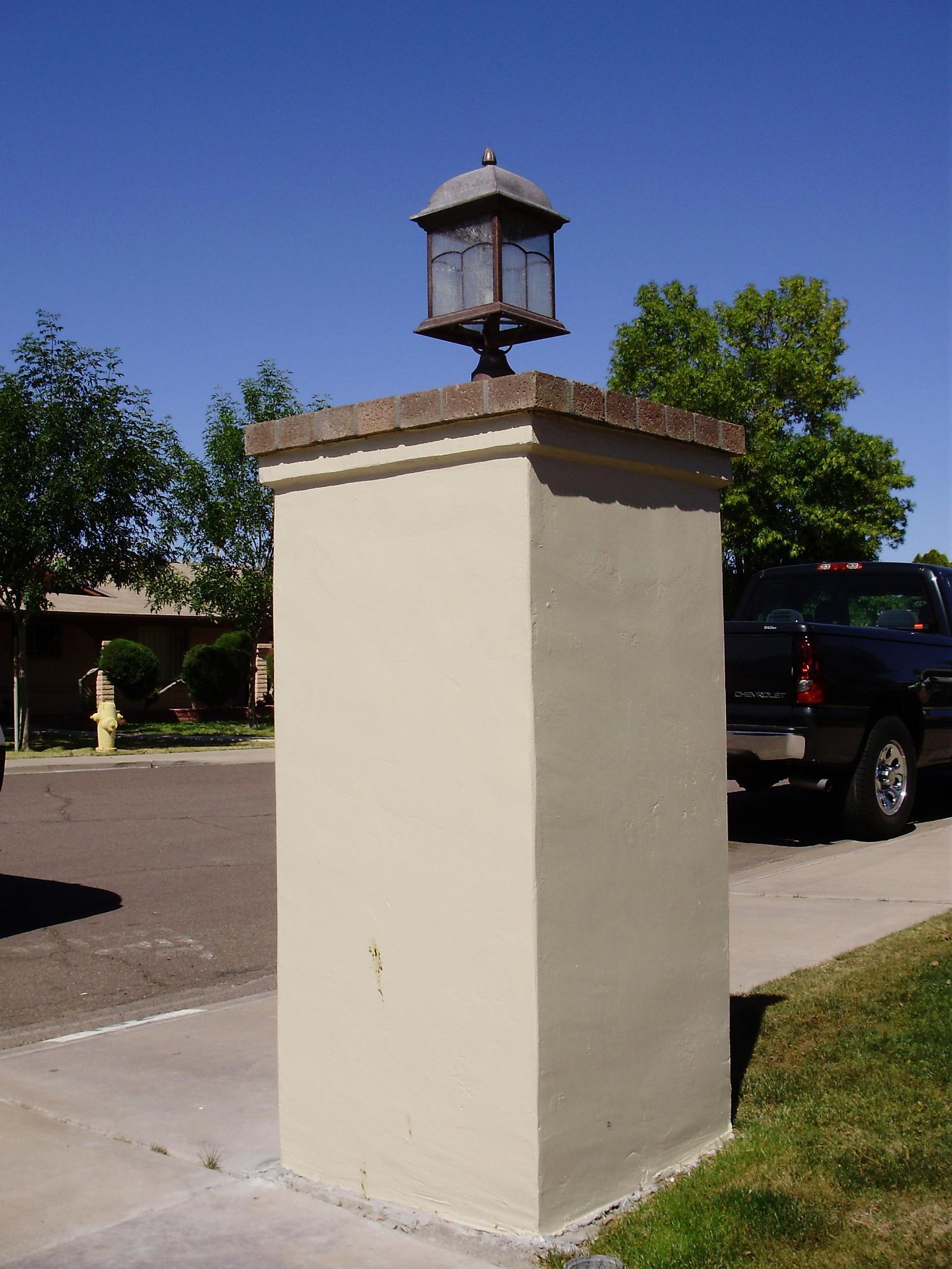 Mail Box Column