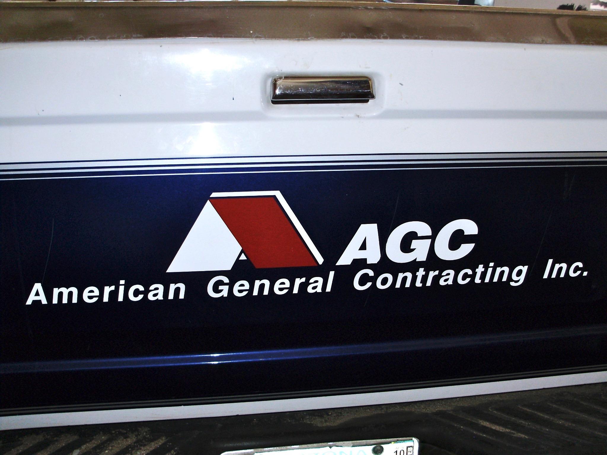 AGC Custom Vehicle Logo