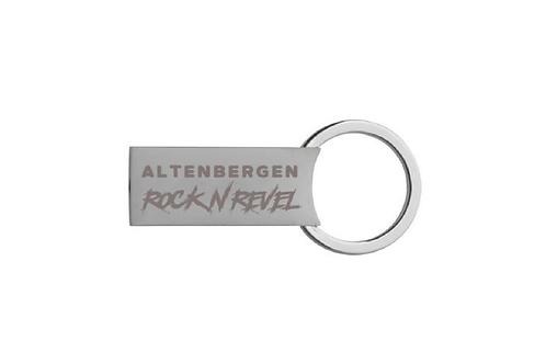 """Schlüsselanhänger """"Altenbergen Rock N Revel"""""""