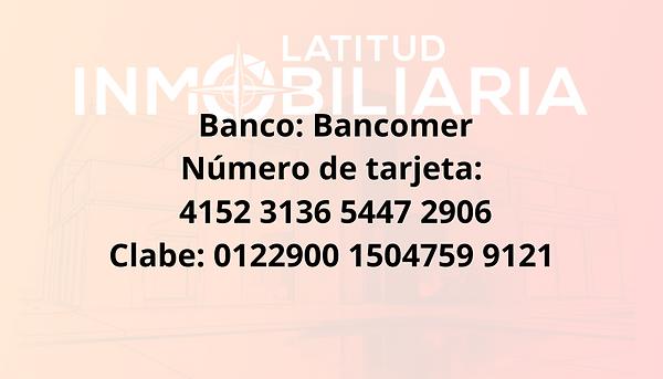 Banco_ Bancomer Número de tarjeta_ 4152