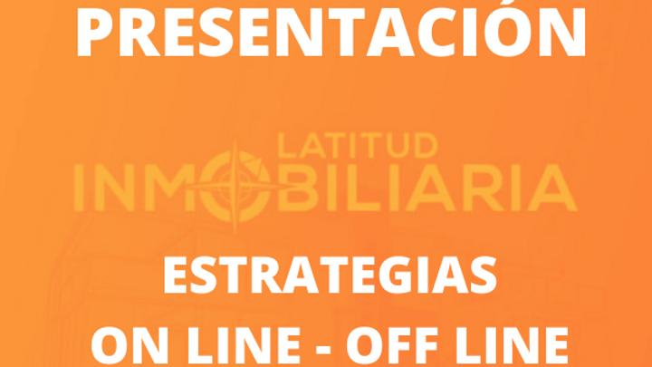 Estrategias de venta Off line y On line