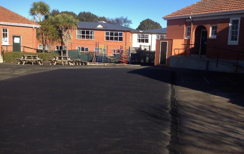Asphalt playground Dunedin