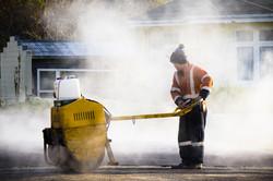 Asphalting a driveway in Dunedin